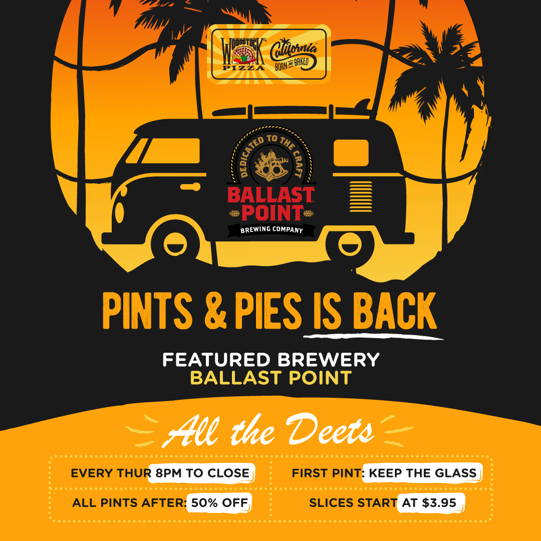 Pints and pies is back. Every Wednesday 8pm to close.